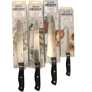 Wiltshire Knife Set 4 Pieces No Sharpening Needed
